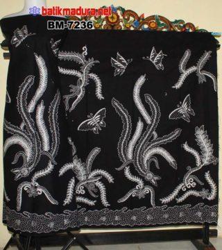 Batik Tulis Madura Hewan Bergambar Kupu Kupu Bm 7236 Batikmaduranet