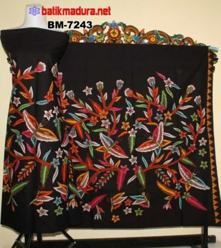 Kain Batik Tulis Madura Hewan Kupu Kupu Terbang Bm 7242